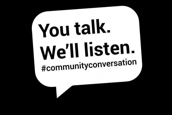#communityconversation
